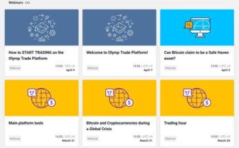 Olymp Trade Free Webinars